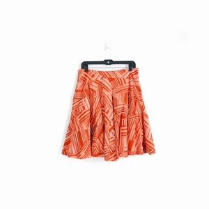 Anthropologie Odille A-Line Skirt